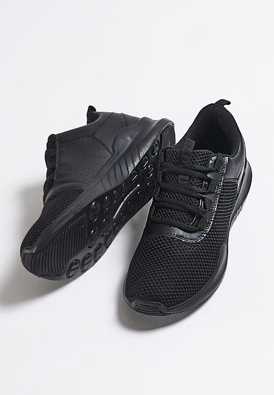 Czarne Buty Sportowe Sports Club