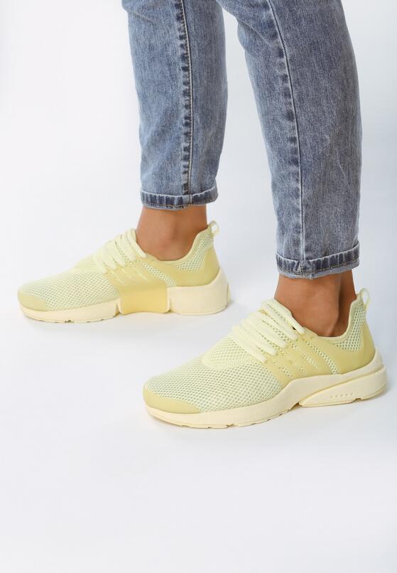 Żółte Buty Sportowe Soft