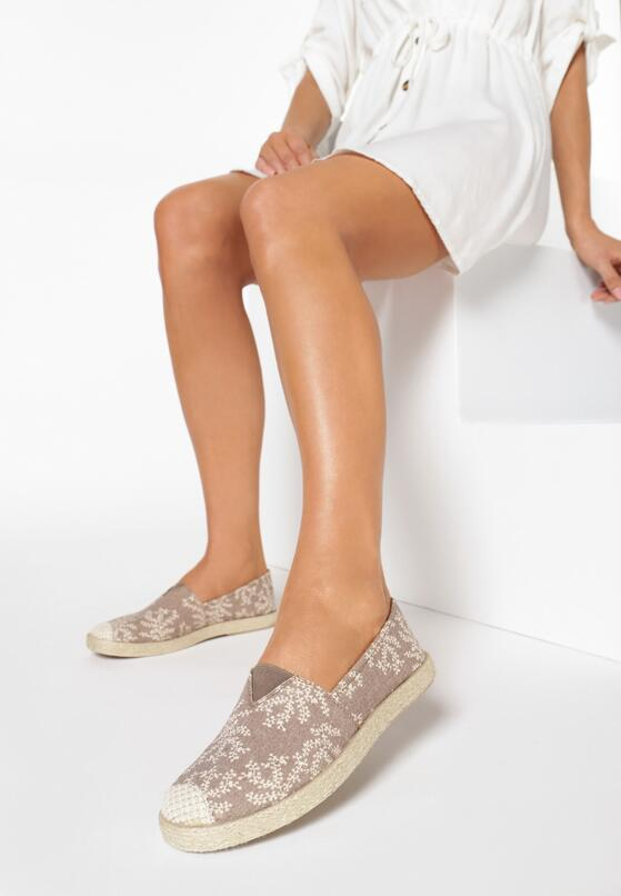 Beżowe Espadryle Just Like You