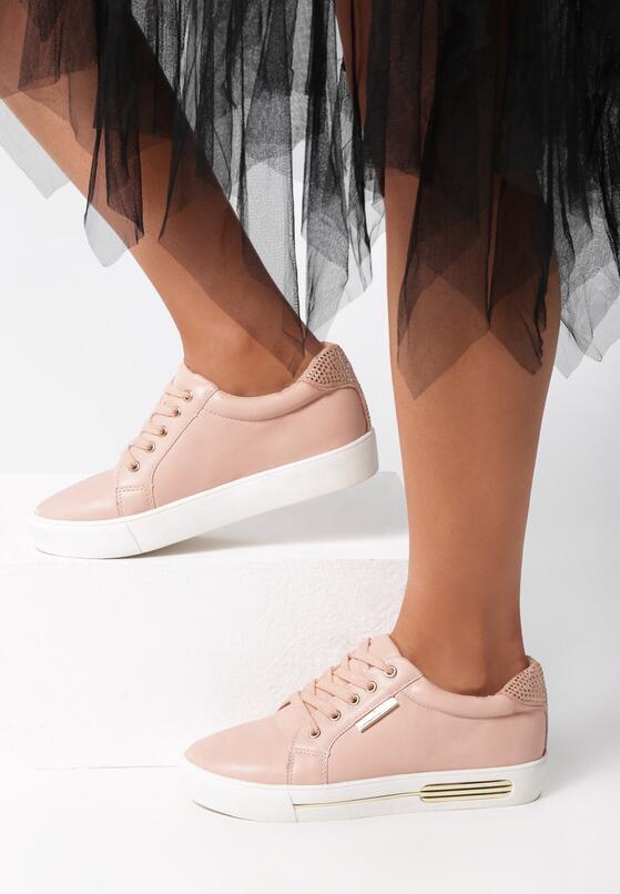 Różowe Buty Sportowe Super Game