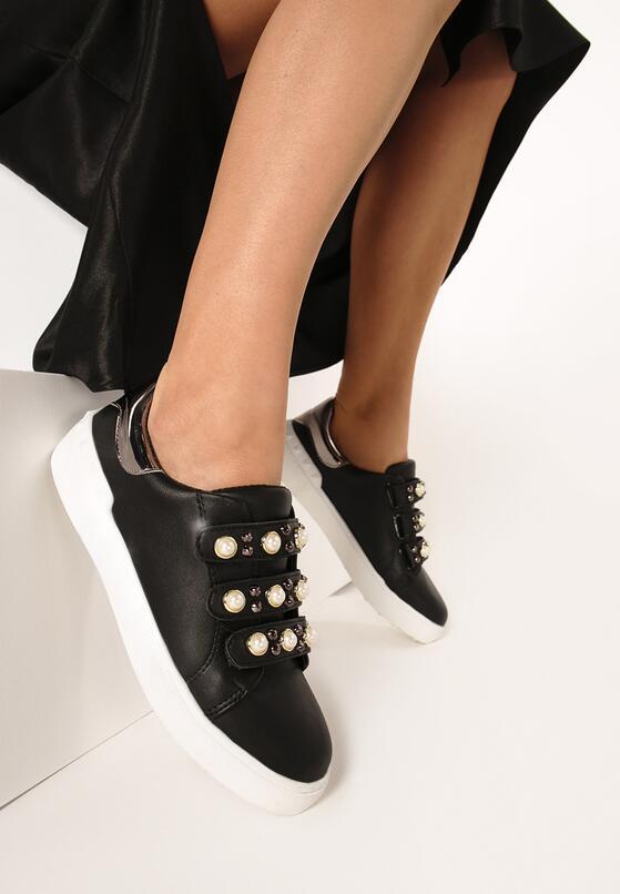 Czarne Buty Sportowe No Alibi