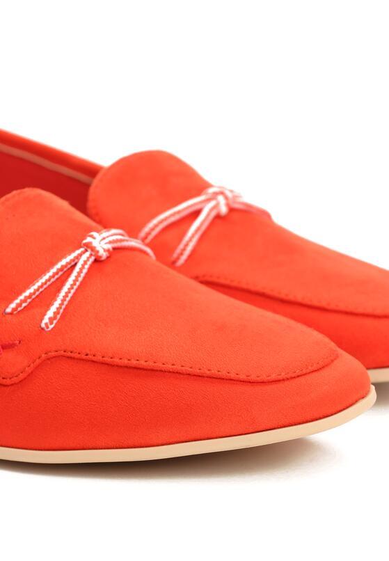 Czerwone Mokasyny Charming Twine