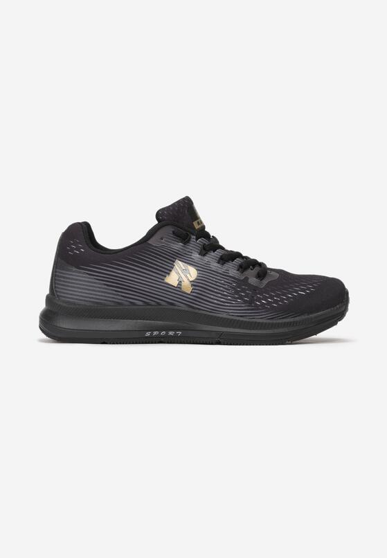Czarne Buty Sportowe Sumptuous