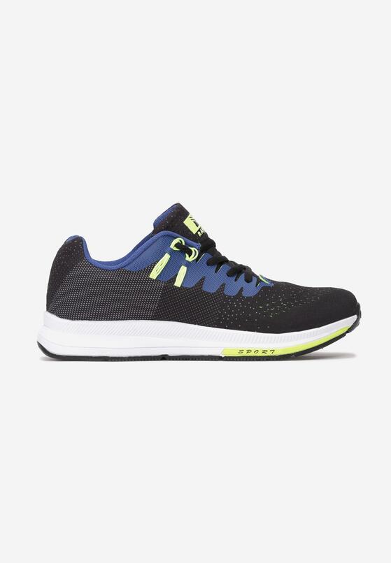 Czarno-Niebieskie Buty Sportowe No Compromise