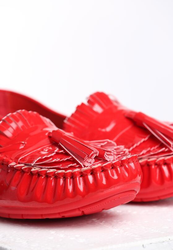 Czerwone Mokasyny Carnation