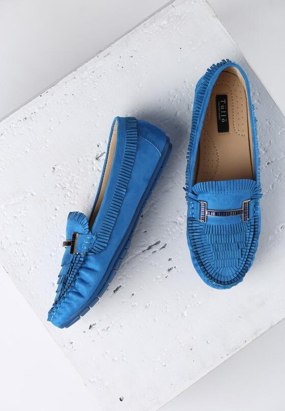 Niebieskie Mokasyny Virtuous