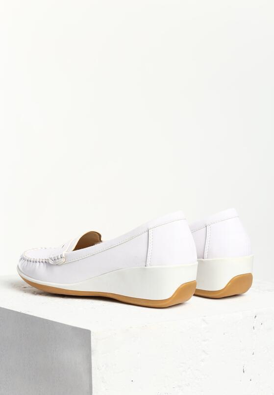 Białe Półbuty Lambent
