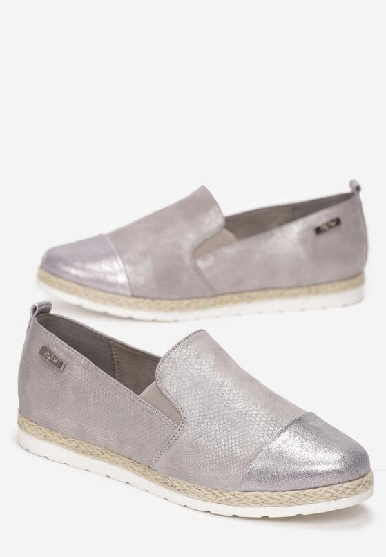 Szare Espadryle From Yesterday