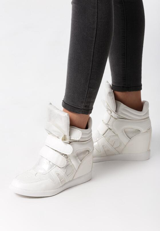 Białe Sneakersy Want You Tonight