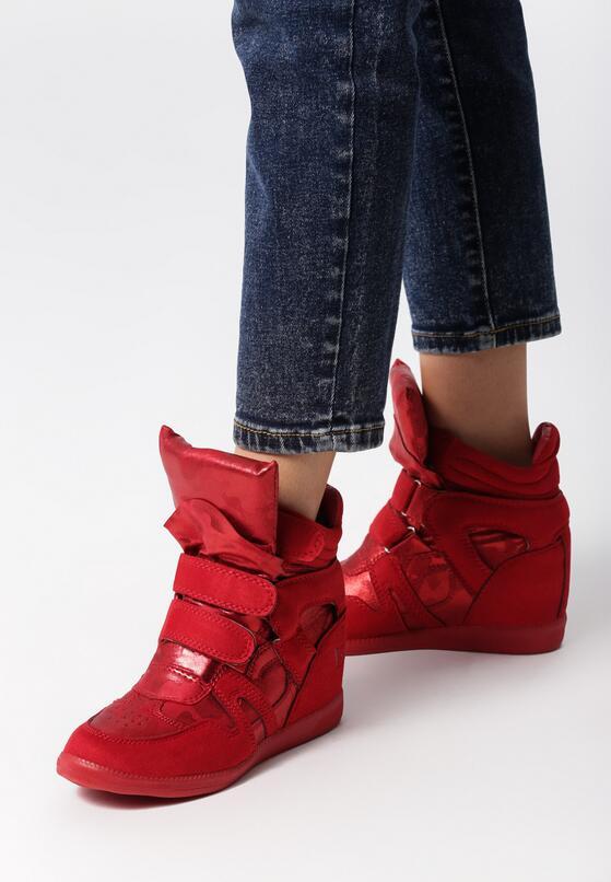 Czerwone Sneakersy Want You Tonight