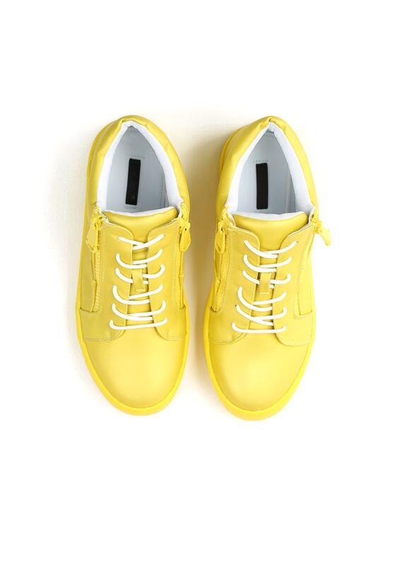 Żółte Sneakersy I Promise You