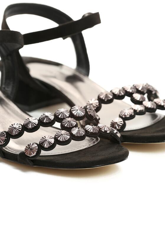 Czarne Sandały Inquisitive Nature