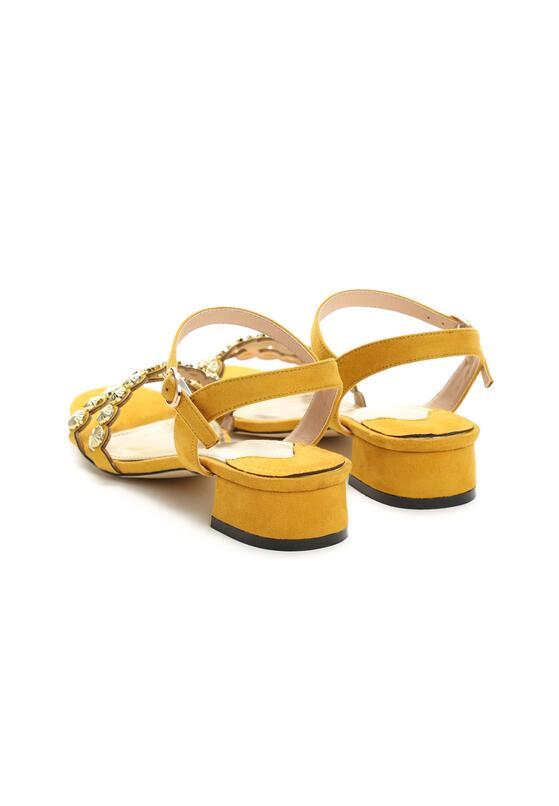 Żółte Sandały Inquisitive Nature