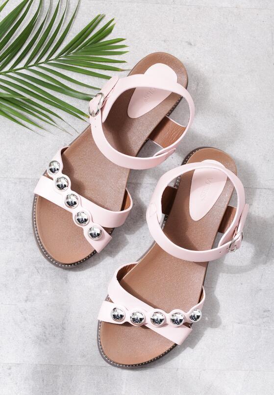 Różowe Sandały Ramble On