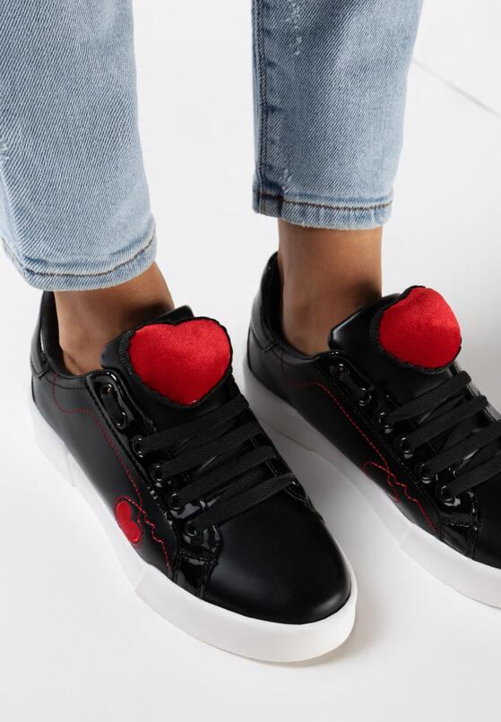 Czarne Buty Sportowe Strange Love
