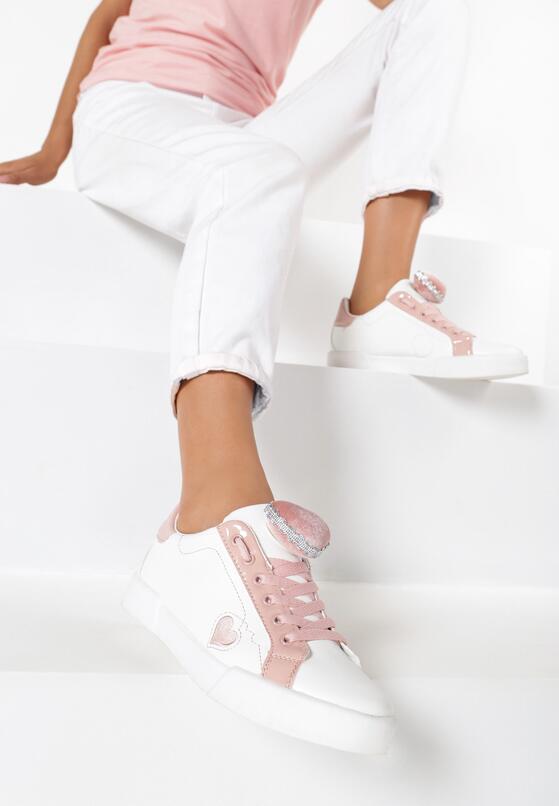 Białe Buty Sportowe Strange Love