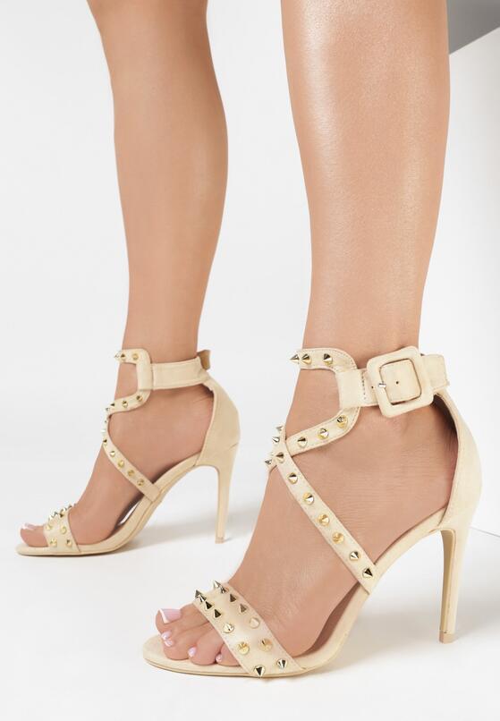 Beżowe Sandały My Sins