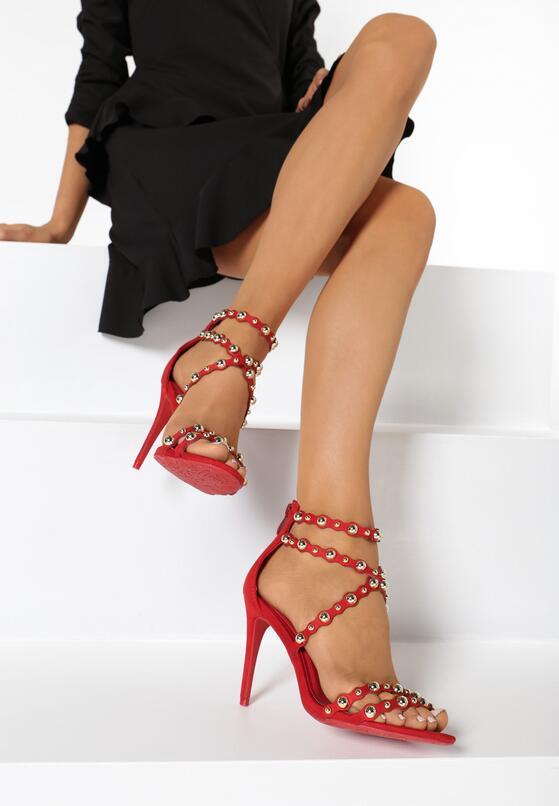 Czerwone Sandały Memorable Kiss