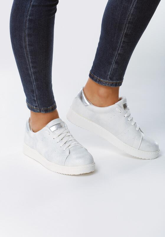 Białe Buty Sportowe Dutch Girl