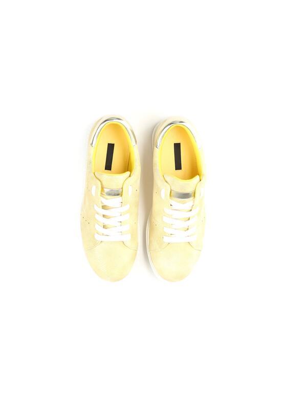 Żółte Buty Sportowe Dutch Girl