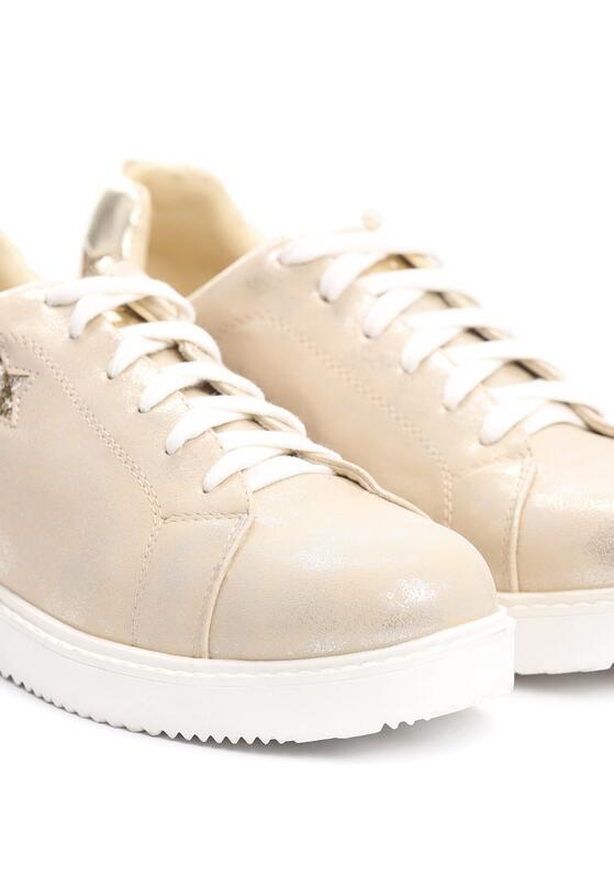 Złote Buty Sportowe Get Like Me