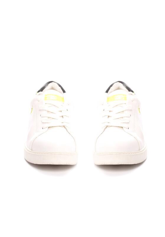 Biało-Limonkowe Buty Sportowe Friend Of Mine