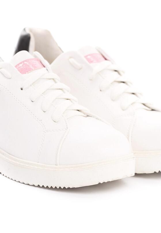 Biało-Różowe Buty Sportowe Friend Of Mine