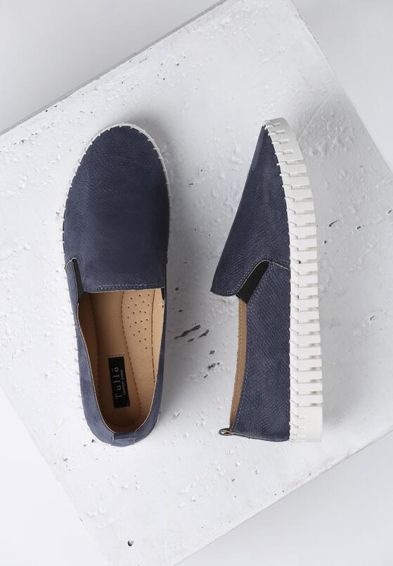 Niebieskie Slip On Compliant