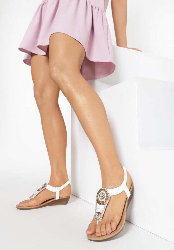 Białe Sandały Something Familiar