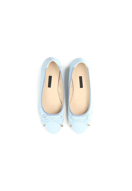 Niebieskie Koturny Sweatheart