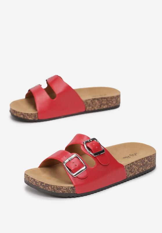 Czerwone Klapki Sago Palm