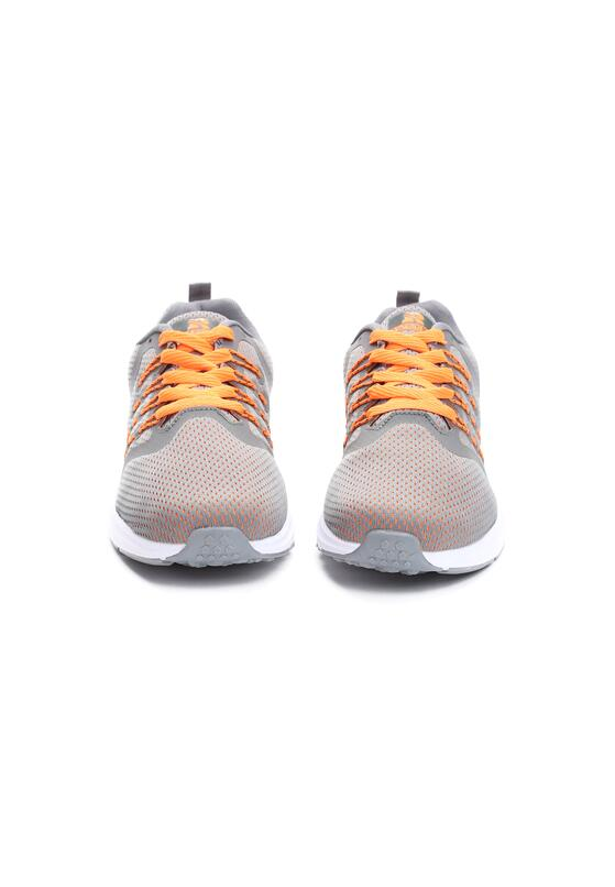 Szaro-Pomarańczowe Buty Sportowe Between Us