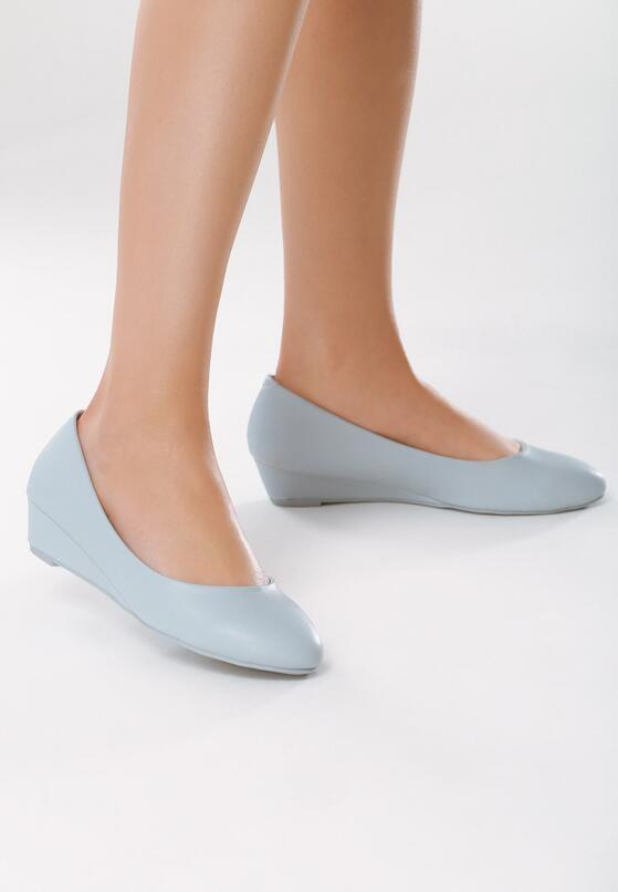 Niebieskie Koturny Something I Need