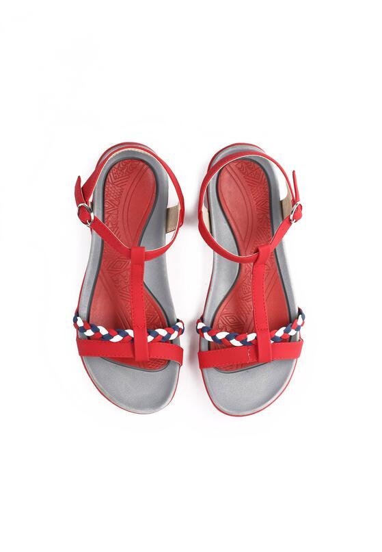 Czerwone Sandały Moonbeam