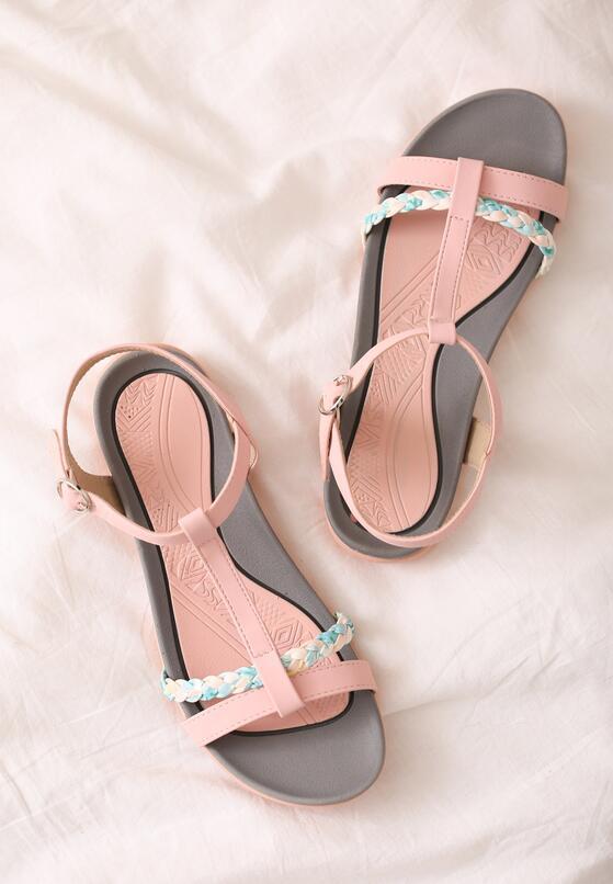 Różowe Sandały Moonbeam