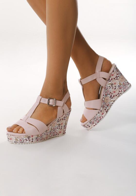 Różowe Sandały All I Ever Wanted