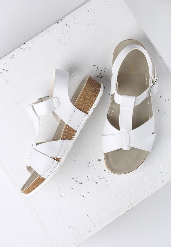 Białe Sandały Indian Summer