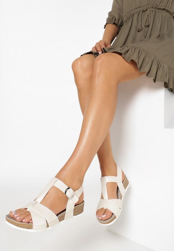 Beżowe Sandały Indian Summer