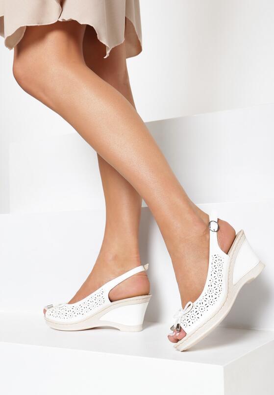 Białe Sandały One Life