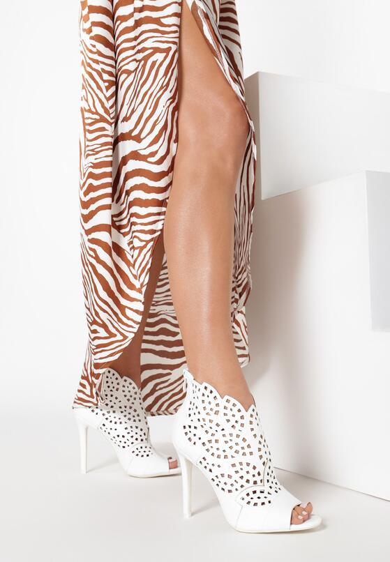Białe Sandały La Bella