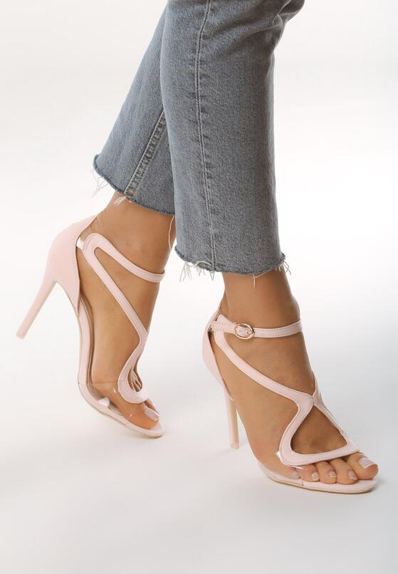 Różowe Sandały City Ligts