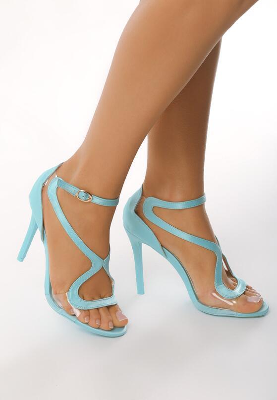 Niebieskie Sandały City Ligts