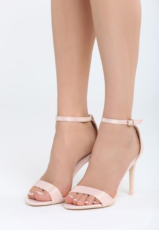 Różowe Sandały Let Her Know