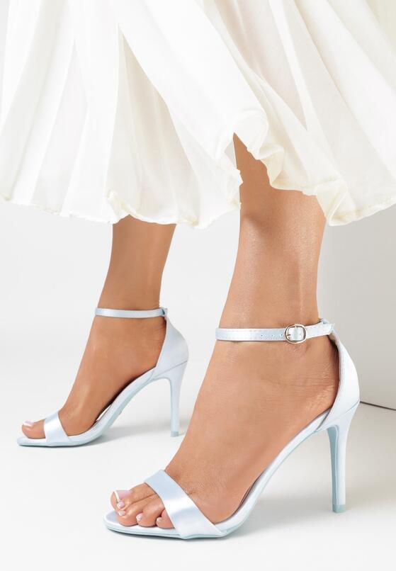 Niebieskie Sandały Let Her Know