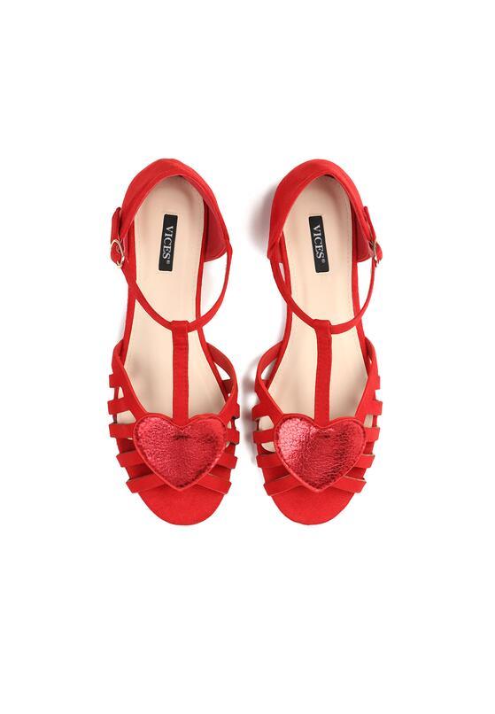Czerwone Sandały Bad Dreams