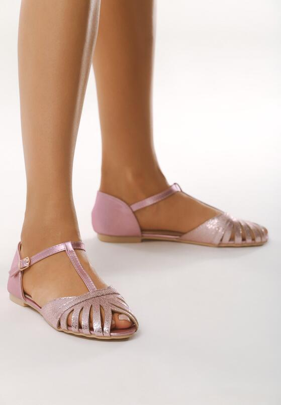 Szampańskie Sandały Another Dimension