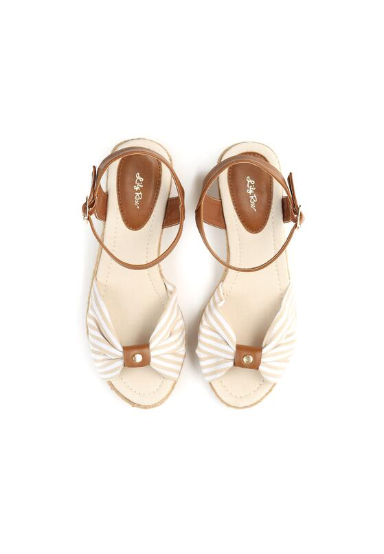 Beżowe Sandały Matelot