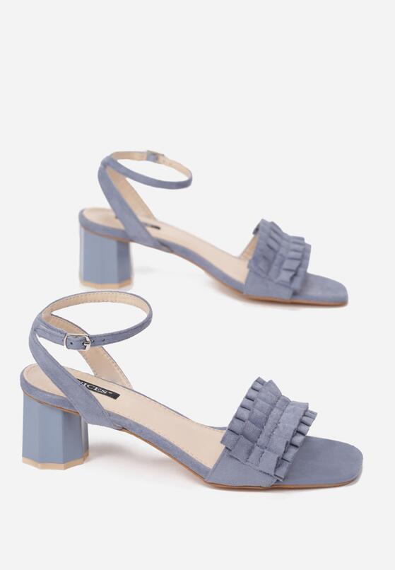 Niebieskie Sandały That's Crazy