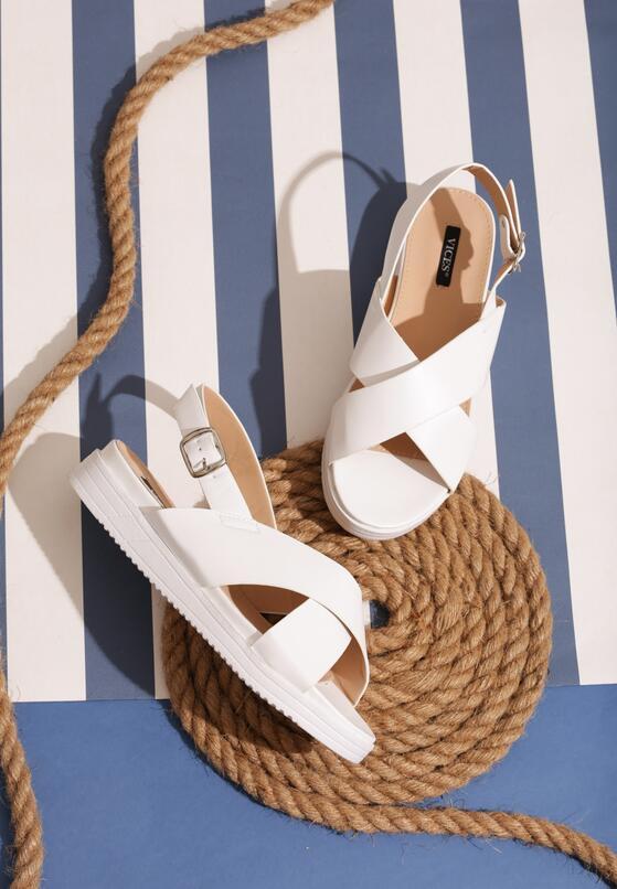 Białe Sandały Righteous