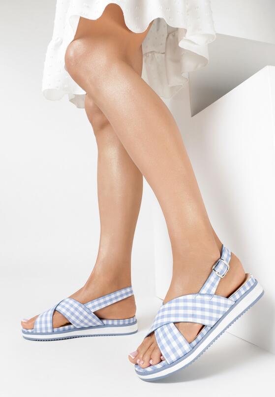 Niebieskie Sandały Spontaneous